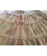 Old Navy Hearts And Flowers Print Gray Tiered Skirt Girls Size XL 12-14 ... - $8.65