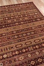 Southwestern Lodge Cabin Tribal Red Rust Area Rug **FREE SHIPPING** - €38,79 EUR+