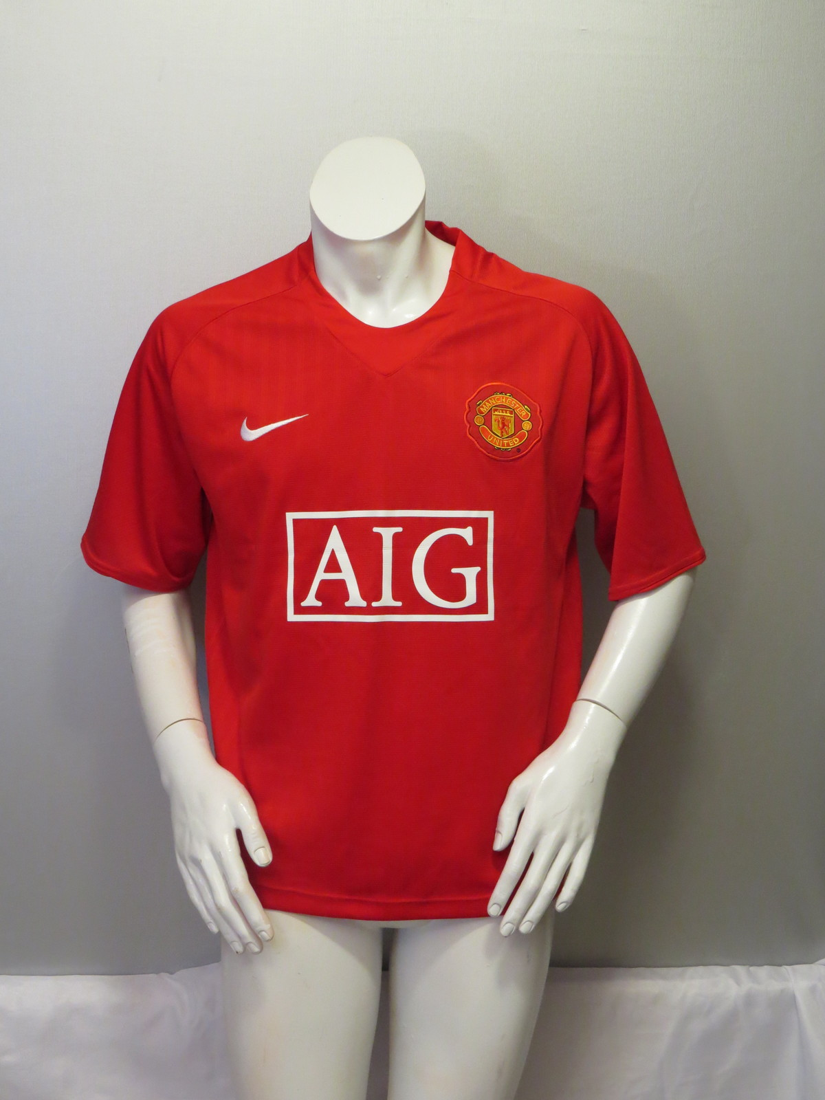 Nice Manchester United Jersey Home 2008 by Nike and 50 similar items  for sale