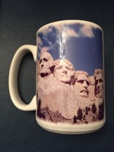Mount Rushmore, South Dakota Presidents Black Hills Souvenir Coffee Tea Mug - $5.00