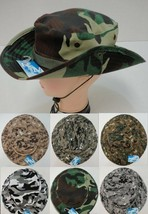 Floppy Camouflage Boonie Hat Military Army Digital Camo Woodland Hat w/ ... - $8.06
