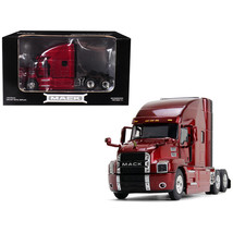 Mack Anthem Sleeper Cab Lacquer Red 1/50 Diecast Model by First Gear 50-3402 - $79.20