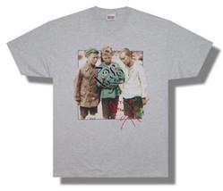 Jimmy Page-(Led Zeppelin)-Zoso-3 Boys-2000 Tour-X-Large Ash Grey T-shirt - $12.59