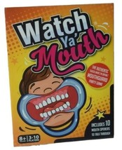 New Watch Ya' Mouth Game with 10 Mouth Openers Brand New Sealed - $24.74