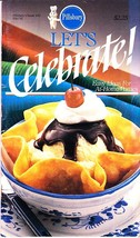 Pillsbury Classic Cookbook, Let's Celebrate, Ideas At-Home Parties, 1985... - $2.25