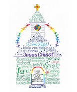 Let's Go To Church cross stitch chart Imaginating - $5.40
