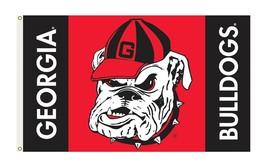 Georgia Bulldogs NCAA Flag 3'x5' Hairy Dawg Banner  - $29.65