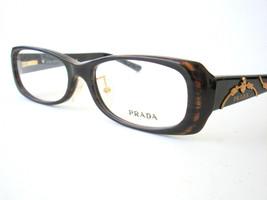 New Prada Eyeglasses VPR 03L Brown 7N6-1O1 Authentic 52-16-135 - $102.81