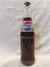 Flintstones 1994 Full Pepsi-Cola Bottle from Mexico w/Fred Flintstone Bo... - $13.95
