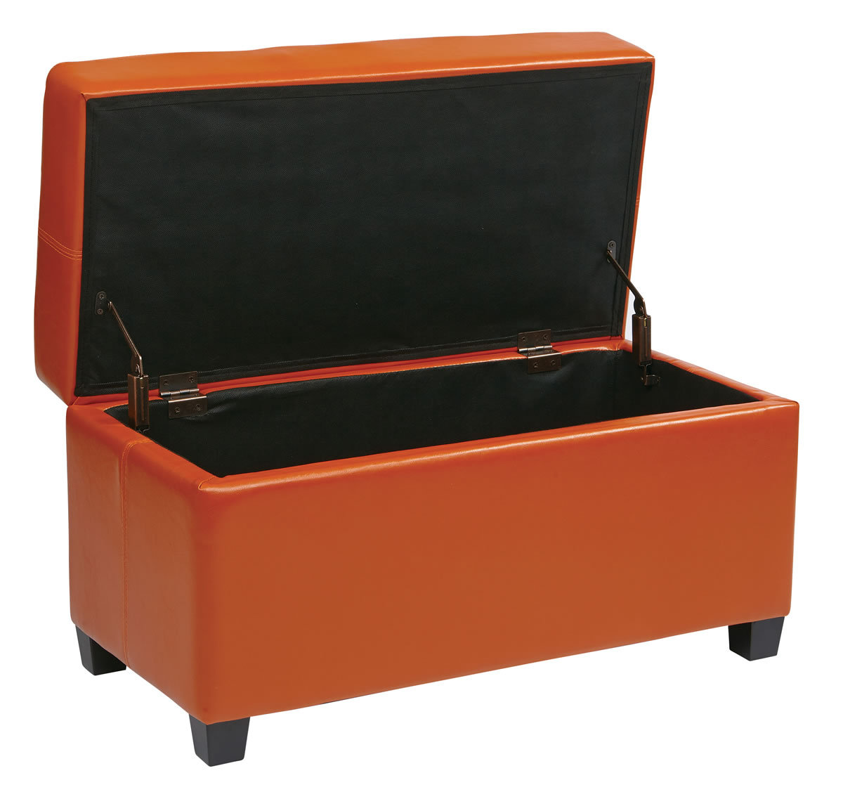 Pink Fairy Wishes Bench Seat With Storage Toy Box Seating: 32 Wide Vinyl Storage OTTOMAN Bench Toy Chest & Wood Legs