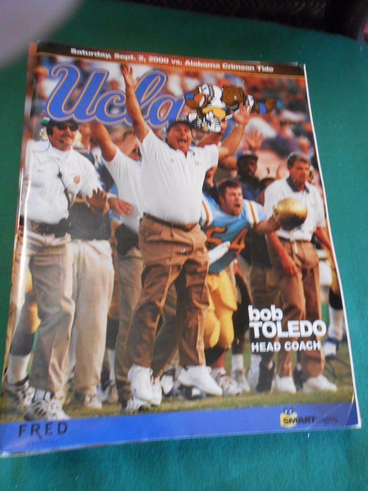 Great Collectible 2000 UCLA vs.  ALABAMA Crimson Tide Football Game Program - $14.54