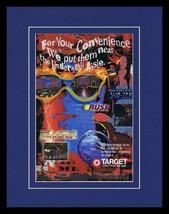 1997 Target Video Games Mace SubZero Framed 11x14 ORIGINAL Vintage Adver... - $34.64