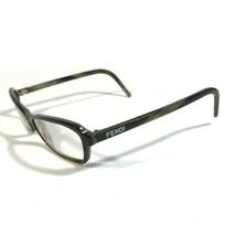 Fendi Brown Olive Horn Thin Rectangular Eyeglass Frames F617 200 54 16 135 V27 - $65.45
