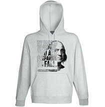 Benjamin_Franklin - By failing to prepare- NEW COTTON GREY HOODIE - $31.88