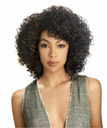 Sensual Vella Vella Synthetic Curly Hair Medium Full Wigs - ERIN - $27.95