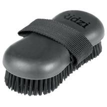 Horze Western Soft Grip Horse Synthetic Bristles Body Brush Black U-6-BL - $10.84