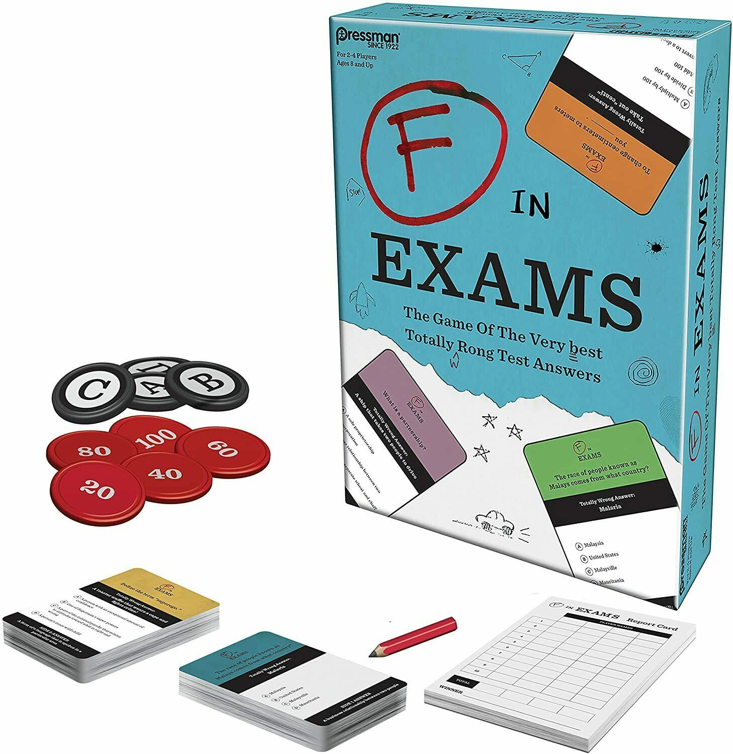 F in Exams Game - $49.50