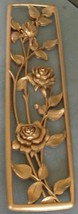 Mid Century Syroco Molded Plastic Wall Hanging #3061 - GORGEOUS DETAIL -... - $29.69