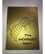 Puryear Tennessee TN Yearbook Annual K-8 THE HORNET 1981 - $14.01