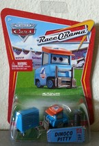 Disney Pixar CARS Race O Rama DINOCO PITTY diecast ROR 62 - $7.00