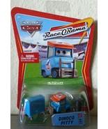 Disney Pixar CARS Race O Rama DINOCO PITTY diecast ROR 62 - $6.00