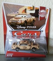 Disney Pixar CARS DONNA PITS diecast toy 7/8 Rust-Eze 2013 - $7.00