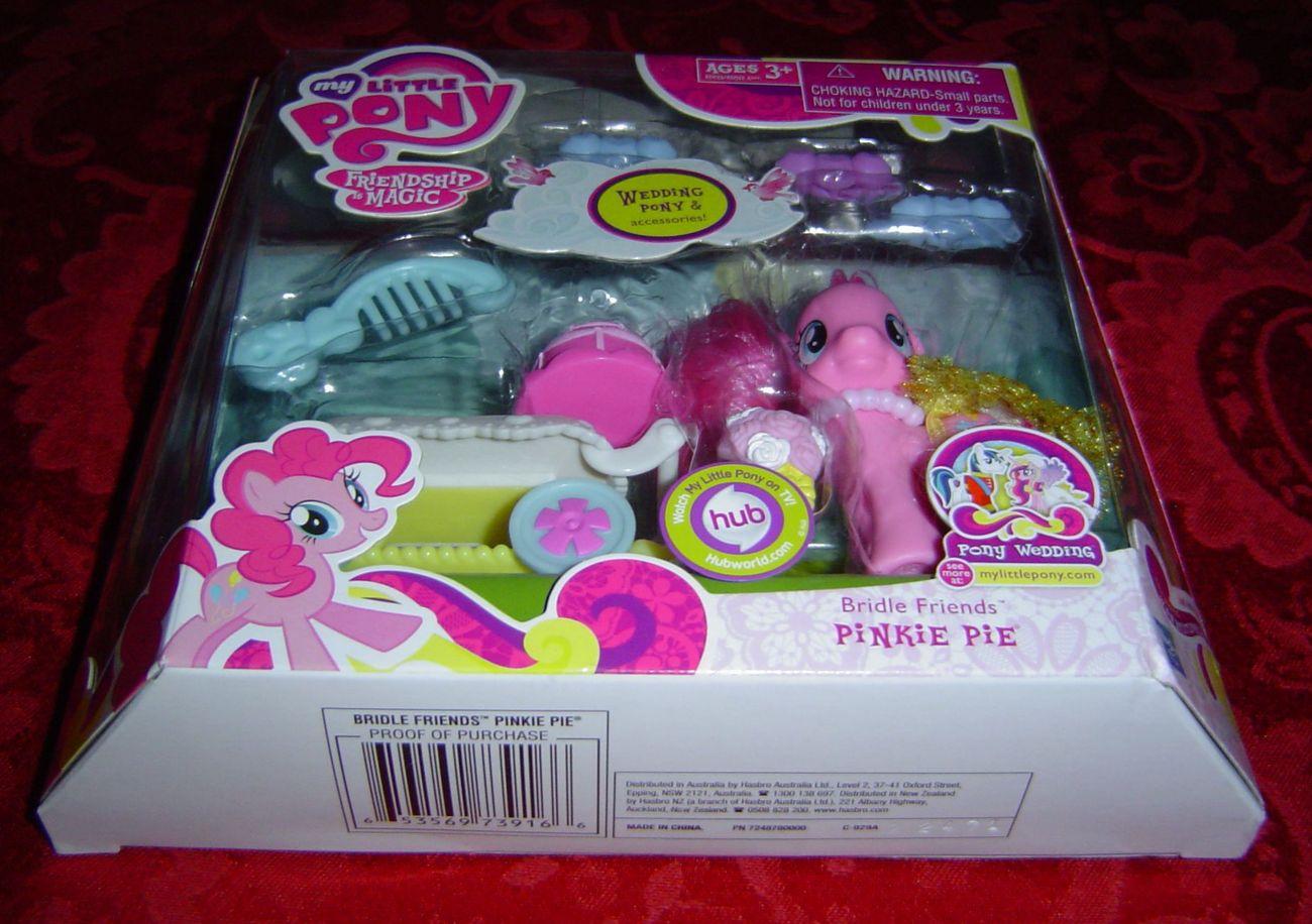 My Little Pony G4 Bridle Friends Pinkie Pie Hub FiM Friendship is Magic Hasbro
