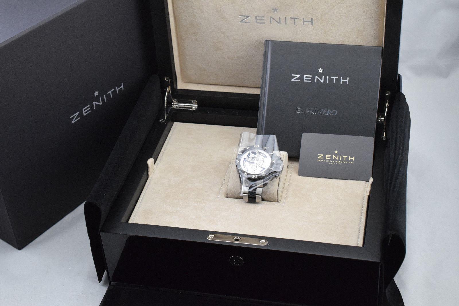 Zenith Defy Xtreme Open El Primero Tourbillon 96.0525.4035 LNIB