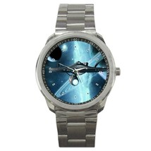 Battleship Star Wars Custom Sport Metal Men Watch  - $13.50