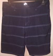 NWOT Men's Quiksilver 'Amphibians' Hybrid Stripe Shorts, Size 33 - Blue - $47.51