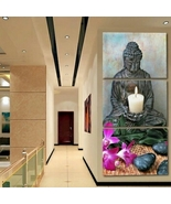 Buddha 3 Piece Canvas Wall Decor No. BD3001 - $51.19+