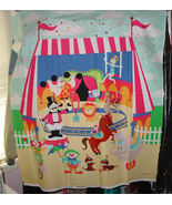 "36"" x 45"" Circus Cotton Fabric Panel - $5.00"