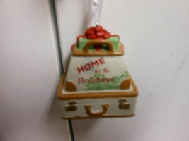 """Hallmark Direct Imports """"Home For The Holidays Luggage"""" Ornament NEW   - $11.63"""