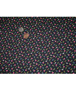 Vintage VIP Cranston per 1 yard Tiny Flower Fabric for Bleuette, Hitty, ... - $5.00