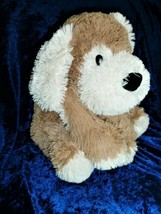 "Toys R us Stuffed Plush Tan Brown Cream White Puppy Dog 2012 Big 21"" 17"" - $148.49"