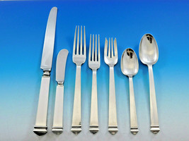 Hampton by Tiffany and Co Sterling Silver Flatware Set 12 Service 84 pcs Dinner - $10,625.00