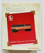 2003 Hallmark Lionel Daylight Oil Tender Ornament NOS - $14.99