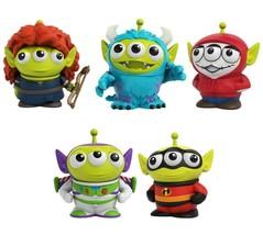 Disney Pixar Remix Toy Story Alien Monsters Inc Coco Indestructibles Bra... - $36.73