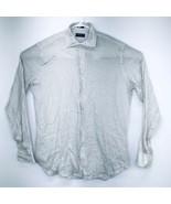 Peter Millar Men's Large Shirt Button Up Collared Umbrellas Beige 100% L... - $24.99