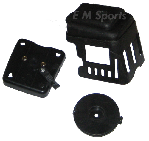 Motovox MVS10 Gas Scooter Moped Bike Motor Parts Air Filter Cleaner Kit 43cc