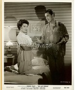 Hot Jeffrey Hunter Hairy Chest Dianne Foster 1958 Photo - $9.99