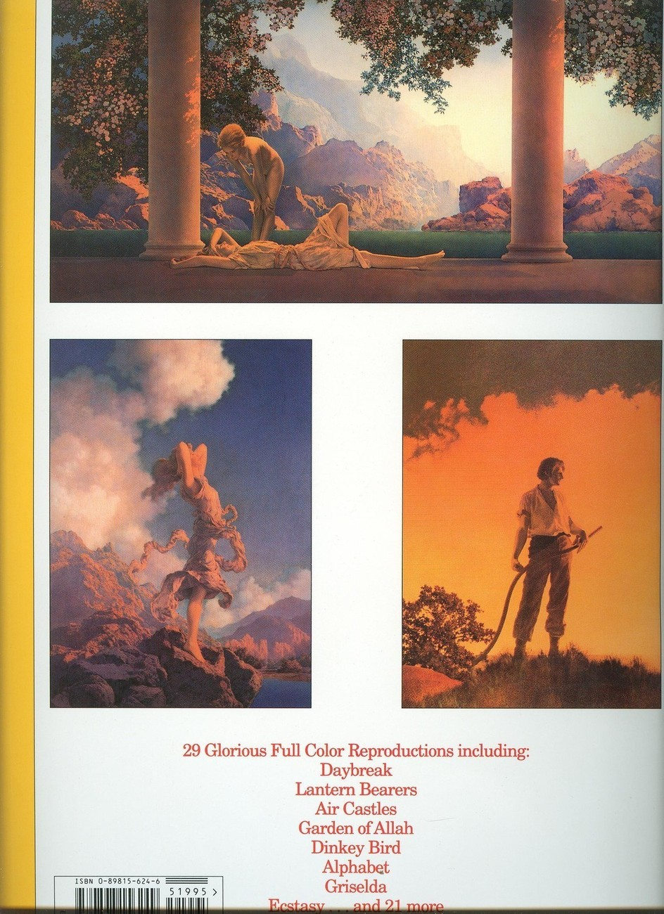 Maxfield Parrish,the Poster Book:29 Full Color Plates-LG FRAMEABLE-GALLERY WALL