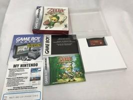 The Legend Of Zelda The Minish Cap Game Boy Advance, CIB w/ Collector Case - $104.50