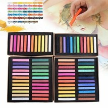 Soft Pastel Square Chalk Crayon Solid Color Art Drawing Stationery 12/... - $25.99+