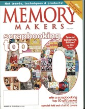 Memory Makers March 2005-Fold-Out of 50 Covers;Special Collector's Issue... - $9.99
