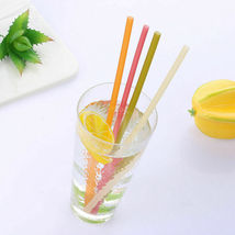 Rice straws planet-friendly, ocean-safe, guilt-free drinking - 100 straws  image 11