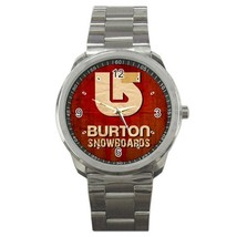 Burton Snowboards Custom Sport Metal Men Watch  - $15.00