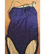 euc nike blue athletic padded lkn One PC Swimsuit Size 12 - $13.99