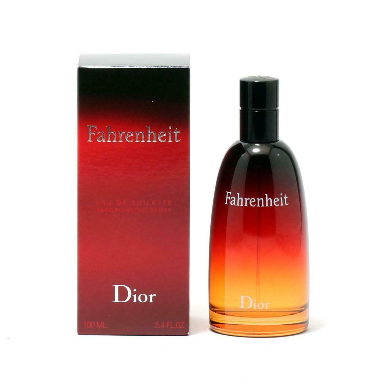 Primary image for Fahrenheit Men By Christian Dior - Edt Spray 3.4 OZ