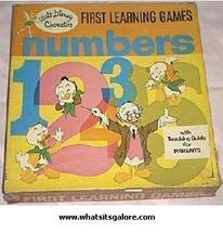 Walt Disney FIRST LEARNING GAME Ludwig von Drake  - $17.00